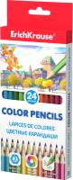 Набор цветных карандашей Erich Krause ArtBerry / 49884 (24цв) -