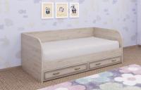 Кровать-тахта Лером Карина КР-1042-ГС 90x190 (гикори джексон светлый) -