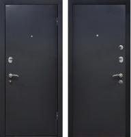 Входная дверь МеталЮр М41 Черный бархат (96x205, правая) -