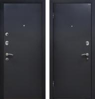 Входная дверь МеталЮр М41 Черный бархат (86x205, левая) -