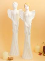 Статуэтка Нашы майстры Ангел-девушка / 1035 (декорированная) -