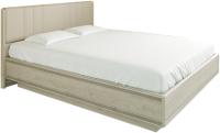 Двуспальная кровать Лером Карина КР-1013-ГС 160x200 (гикори джексон светлый) -
