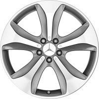 Литой диск Mercedes-Benz A22240125027X44 -