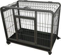 Клетка для животных Duvo Plus Heavy Duty Crate 10662/DV (черный) -