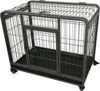 Клетка для животных Duvo Plus Heavy Duty Crate 10663/DV (черный) -