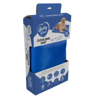 Матрас для животных Duvo Plus Охлаждающий / 11506/DV (XXL, голубой) -