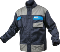 Куртка рабочая Hoegert HT5K281-XXL (темно-синий) -