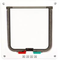 Откидная дверца для животных Duvo Plus 10925/DV (белый) -