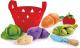 Набор игрушечных продуктов Hape Овощная корзина / E3167-HP -