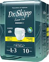 Подгузники для взрослых Dr.Skipp Econom Line L-3 (10шт) -