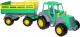 Трактор игрушечный Полесье Мастер №2 с прицепом / 35271 -