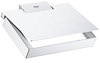 Держатель для туалетной бумаги GROHE Selection Cube 40781000 -