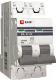 Выключатель автоматический EKF ВА 47-63 2P 25А (C) 4.5kA PROxima / mcb4763-2-25C-pro -