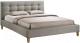 Полуторная кровать Signal Texas 140x200 (серый) -