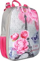 Школьный рюкзак Galanteya 13318 / 9с1154к45 (светло-серый) -