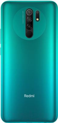 Смартфон Xiaomi Redmi 9 4GB/64GB без NFC (зеленый)