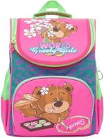 Школьный рюкзак Grizzly RAm-084-6 (бирюзовый) -