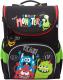 Школьный рюкзак Grizzly RAn-083-3 (черный) -