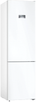 Холодильник с морозильником Bosch Serie 4 VitaFresh KGN39VW25R -