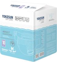 Подгузники для взрослых YokoSun M (10шт) -