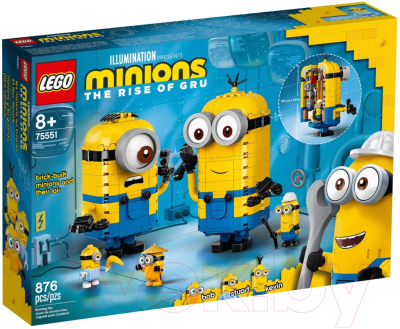 Конструктор Lego Minions Фигурки миньонов и их дом / 75551
