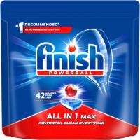 Таблетки для посудомоечных машин Finish All in One Max (42шт) -