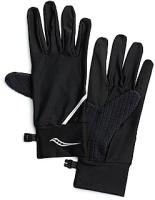 Перчатки для бега Saucony 2020-21 Fortify Liner Gloves / SAU900003 (XL, Black) -