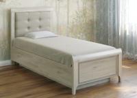 Односпальная кровать Лером Карина КР-1035-ГС 90x190 (гикори джексон светлый) -