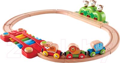Железная дорога игрушечная Hape Железная дорога / E3825-HP