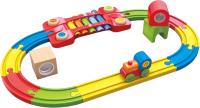 Железная дорога игрушечная Hape Сенсорная железная дорога / E3822-HP -