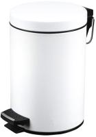 Мусорное ведро Metlex MX2081 (белый) -
