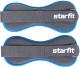 Комплект утяжелителей Starfit WT-501 (1кг, черный/синий) -