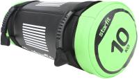 Утяжелитель Starfit WT-601 (10кг, черный/зеленый) -