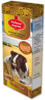 Лакомство для грызунов Родные корма Зерновая палочка с орехами (2x45г) -