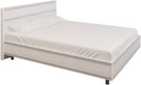 Полуторная кровать Лером Карина КР-2002-СЯ 140x200 (снежный ясень) -