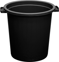Контейнер для мусора ZETA ПЛ-00208 (35л, черный) -