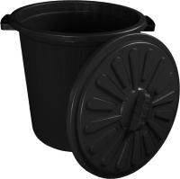 Контейнер для мусора ZETA ПЛ-00203 (35л, черный) -