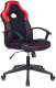 Кресло геймерское Бюрократ Viking-11 (черный/красный искусственная кожа/ткань) -