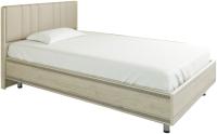 Полуторная кровать Лером Карина КР-2012-ГС 140x200 (гикори джексон светлый) -
