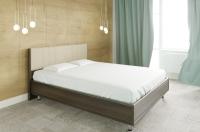 Полуторная кровать Лером Карина КР-2011-АТ 120x200 (акация молдау) -