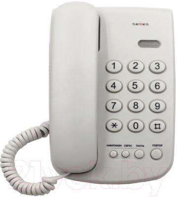 Проводной телефон Texet TX-241
