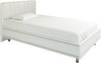 Полуторная кровать Лером Карина КР-2011-СЯ 120x200 (снежный ясень) -
