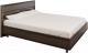 Двуспальная кровать Лером Карина КР-2003-АТ 160x200 (акация молдау) -