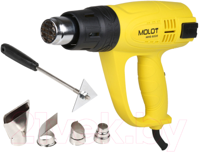 Cтроительный фен Molot MHG 6020