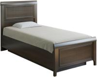 Односпальная кровать Лером Карина КР-1025-АТ 90x190 (акация молдау) -