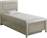 Односпальная кровать Лером Карина КР-1025-ГС 90x190 (гикори джексон светлый) -