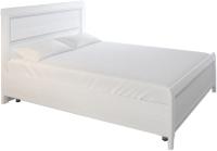 Полуторная кровать Лером Карина КР-2021-СЯ 120x200 (снежный ясень) -