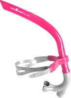 Трубка для плавания Mad Wave Pro Snorkel (розовый) -