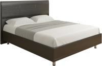 Полуторная кровать Лером Камелия КР-2702-ВЕ 140x200 (дуб венге) -