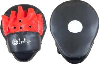 Боксерская лапа Indigo PS-903 (черный/красный) -